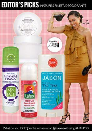 Nature's Finest…Deodorants