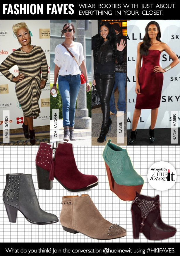 Wear The Booties Shoes Trend With Everything