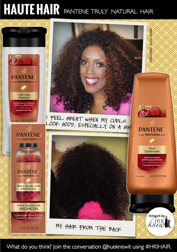 Pantene Truly Natural For My Curly Weave