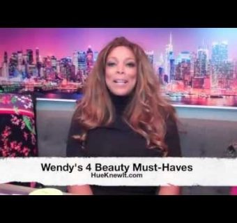 Wendy Williams Video Series #1: Wendy's 4 Beauty Must-Haves