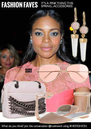 Spring 2014 Accessories...Be Fashionably Pink