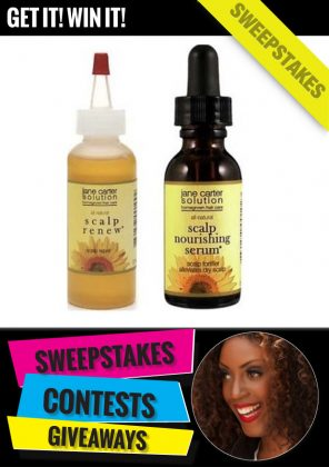 Get FREE Hair Products from Jane Carter Solution