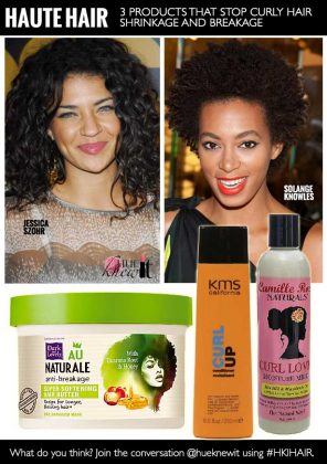 3 Products That Stop Curly Hair Shrinkage and Breakage