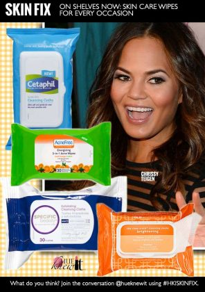 ON SHELVES NOW: Skin Care Wipes For Every Occasion