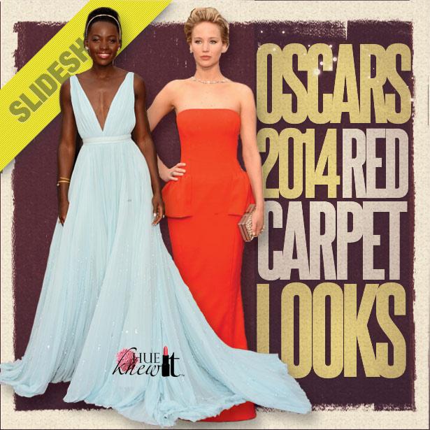 Oscars 2014 Red Carpet Looks - Lupita Nyong'o on red carpet