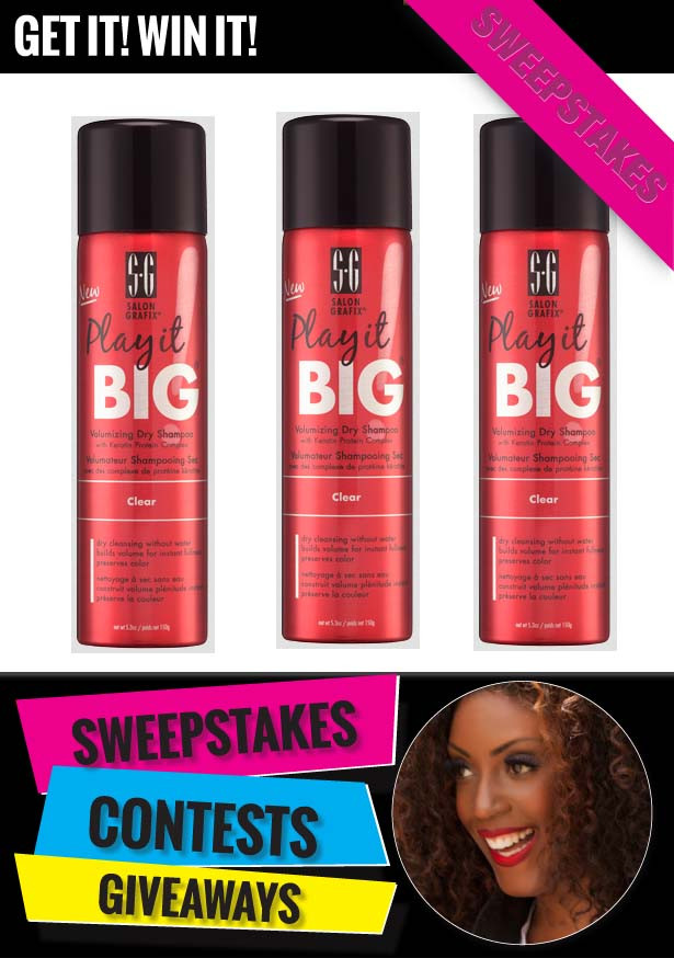 GIVEAWAY: Salon Grafix Dry Shampoo