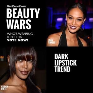 Dark Lipstick Trend: VOTE for Joan or Jessica