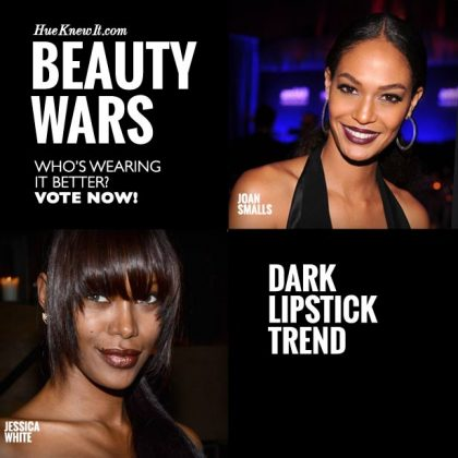 Dark Lipstick Trend: VOTE for Joan or Jessica