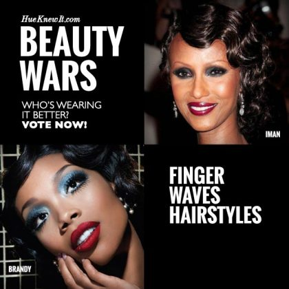 Finger Waves Hairstyles: VOTE for Iman or Brandy
