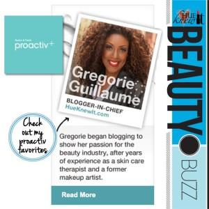 HueKnewIt Gregorie Guillaume Proactive Beauty Expert
