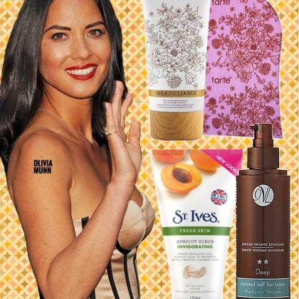 No-Orange Sunless Tanning Solutions