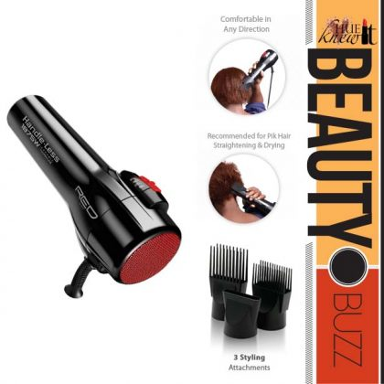 9 Reasons To Own Red by KISS 1875 Hair Dryer