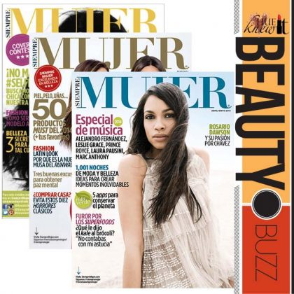 Be a Cover Model on the Largest Beauty Magazine for Latinas