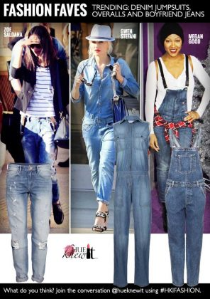 3 Top Denim Trends: Boyfriend Jeans, Jumpsuits & Overalls