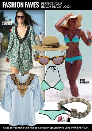 Scene-Stealing Beach Ready Looks