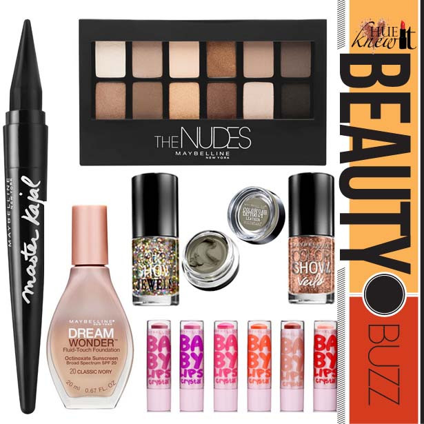 NEW Maybelline Product Launches For Summer 2014