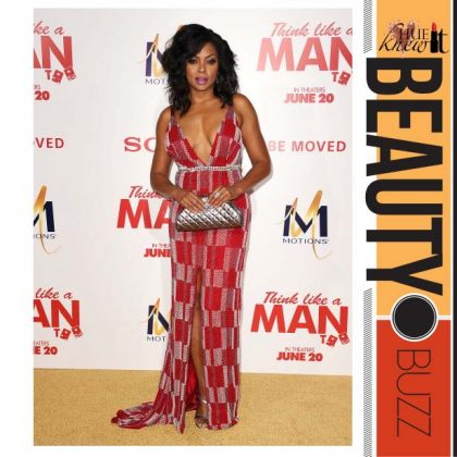 Get Taraji P. Henson's Glammed Up Look With Motions Hair Care