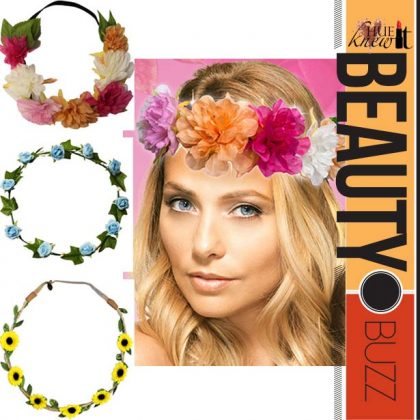 SO Cute – The Floral Halo Trend!