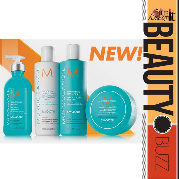 Calm Frizzy Tresses With NEW Moroccanoil Smooth Collection