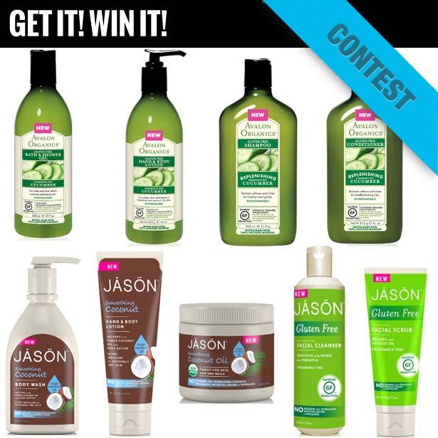GIVEAWAY: Gluten Free Skin Care From JASON & Avalon Organics!
