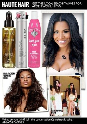 How To Get The Beachy Waves Look