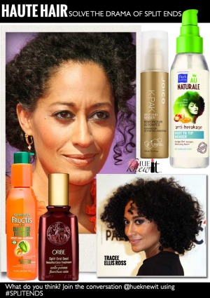 hueknewit HAUTE HAIR split ends Tracee Ellis Ross
