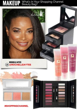 hueknewit MAKEUP shopping channel beauty Rochelle Aytes