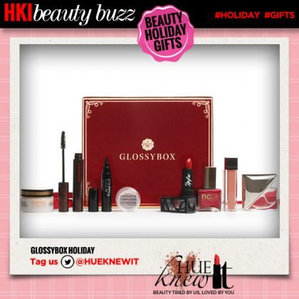 Holiday Beauty Gift Guide:  GLOSSYBOX Holiday