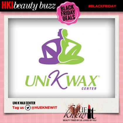 Black Friday Beauty Deal: Uni K Wax Center