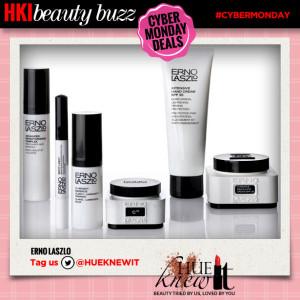 hueknewit beauty buzz cyber monday deals erno laszlo