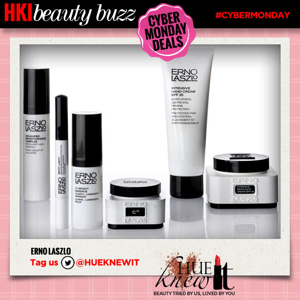 hueknewit beauty buzz cyber monday deals erno laszlo