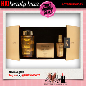 hueknewit beauty buzz cyber monday deals kerastase paris