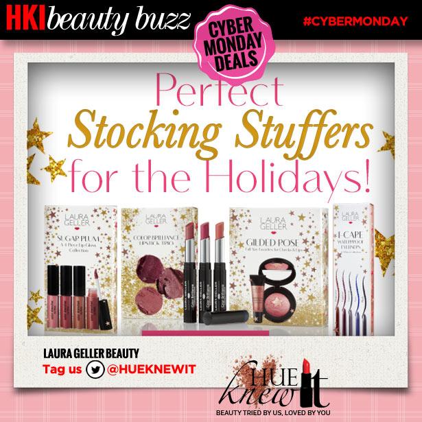 hueknewit beauty buzz cyber monday deals laura geller beauty