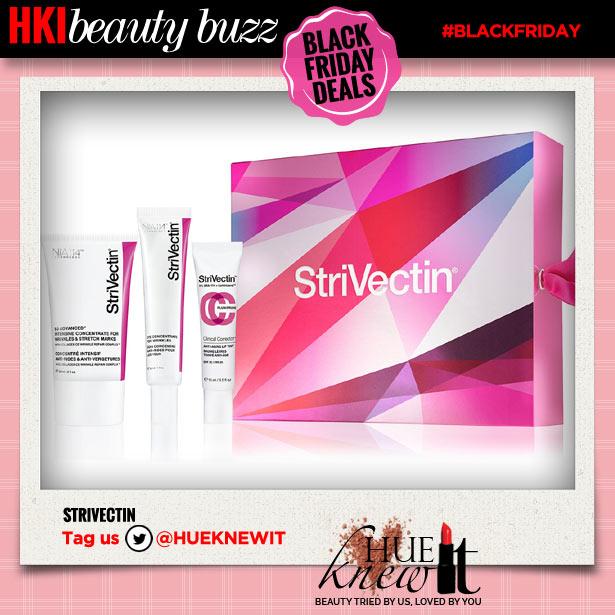 hueknewit beauty buzz black friday deals strivectin