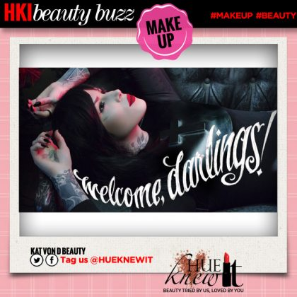Finally, Kat Von D Beauty Wesbsite Launches!