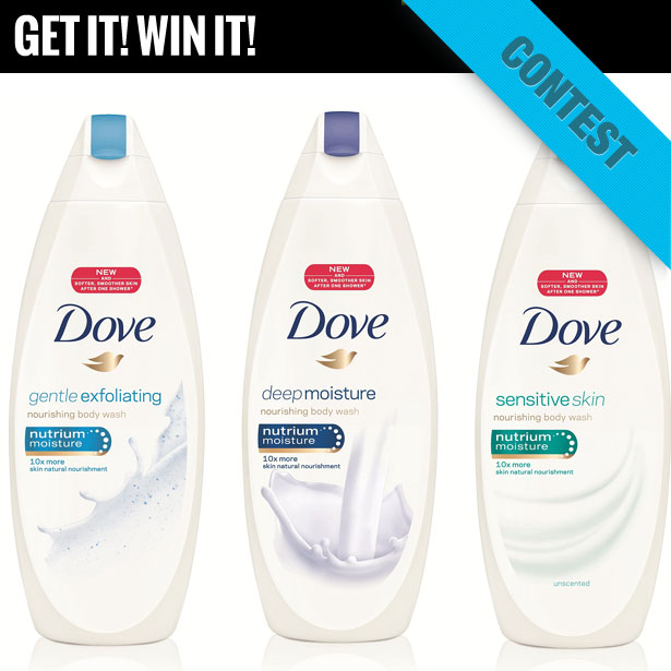 hueknewit contests Dove care giveaway
