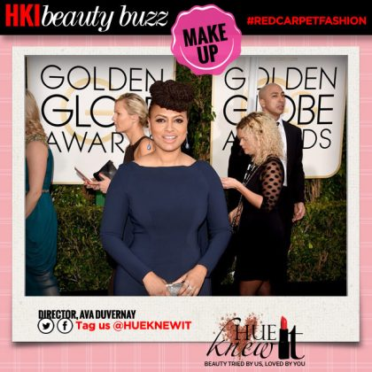 Golden Globes Beauty Looks: Ava Duvernay