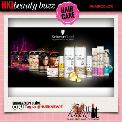 New Model-Approved Hair Care: Schwarzkopf ULTIME