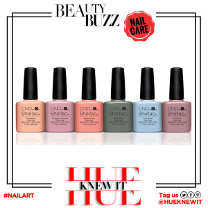 hueknewit BREAKING NEWS CND Shellac floral fauna nail polish collection