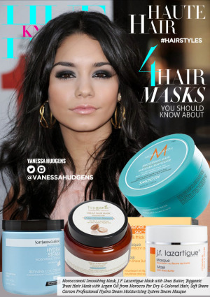 hueknewit HAUTE HAIR Hair Mask Products You Should Know vanessa hudgens