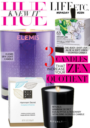 hueknewit LIFE ETC Candles Increase Zen Quotient