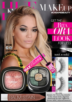 hueknewit MAKEUP Get The Rita Ora Look wet n wild