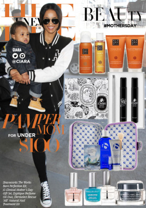 hue knew it BEAUTY mothers day gifts Pamper Mom Ciara