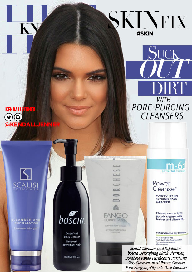 Suck Out Dirt w/These Pore Purging Cleansers