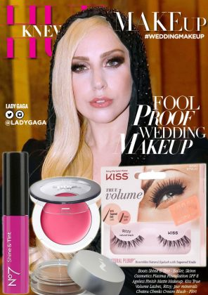 Lady Gaga (Kind Of)-Approved Wedding Day Makeup Musts