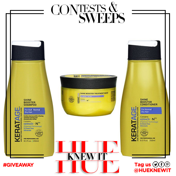 GIVEAWAY: #Win Keratage Hair Products