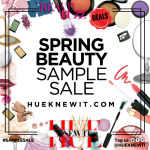 new beauty buzz SAMPLE SALE spring