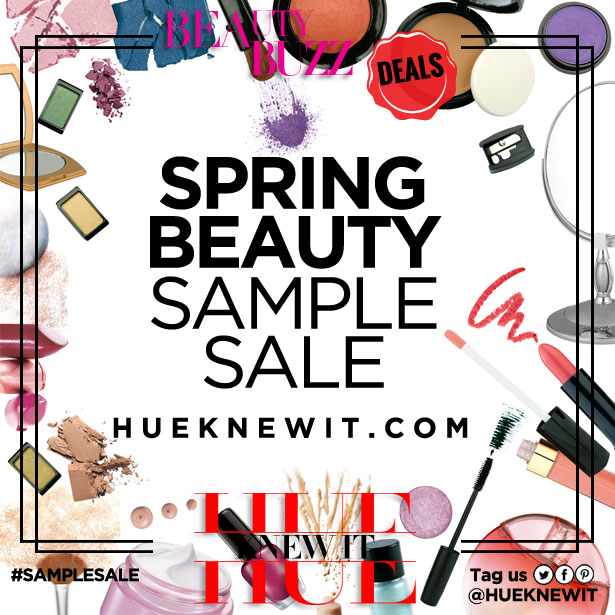 Spring Beauty Product Sample Sale!