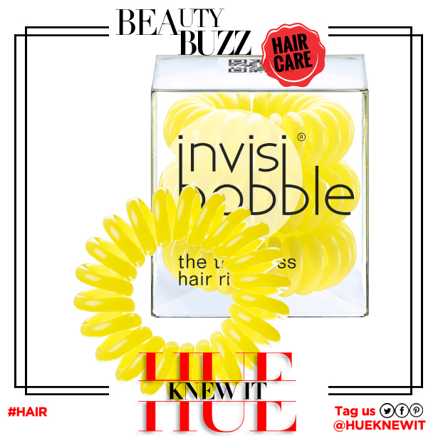 hueknewit BREAKING NEWS Invisibobble yellow