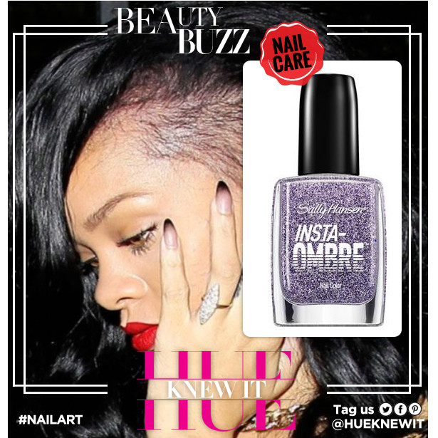 #TRENDING: Get Rihanna Inspired Nail Art - Ombre Nails